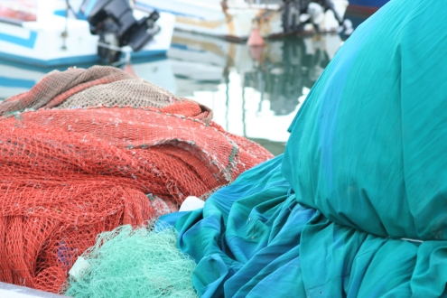 Colored fishing nets 2